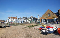 Whitstable harbour beach Stock Photography