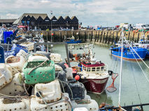 Whitstable Harbour, Kent, UK Royalty Free Stock Photos