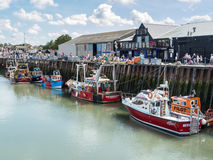 Whitstable Harbour, Kent, UK Royalty Free Stock Images