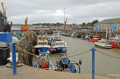 Whitstable Harbour Stock Photography