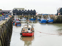 Whitstable Harbour Stock Photos