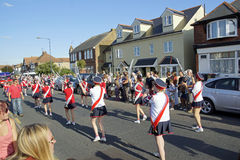 118. Whitstable-Karneval Stockfotos