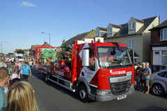 118. Whitstable karneval Royaltyfria Foton