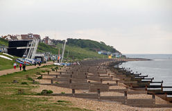 Whitstable kent coast Royalty Free Stock Photography