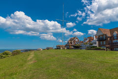 Whitstable, Kent, UK - houses Royalty Free Stock Photo
