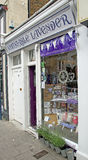 Whitstable lavendel shoppar Arkivbild