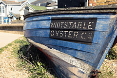 Whitstable Oyster Co Royalty Free Stock Photography