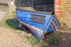 Whitstable oyster company boat Royalty Free Stock Image