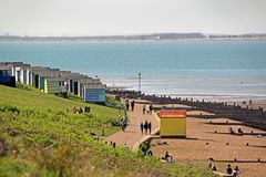 Whitstable seafront Royalty Free Stock Photo
