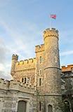 Whitstable slott som flyger flaggan Royaltyfri Foto