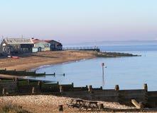 whitstable strand Arkivbild