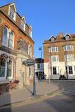 WHITSTABLE, UK - 15 ΟΚΤΩΒΡΊΟΥ 2017: Δούκας του μπαρ του Cumberland στην κεντρική οδό στοκ εικόνα