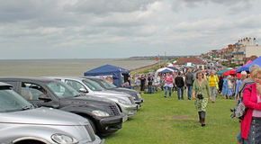 Whitstable Vintage Car Show Stock Images