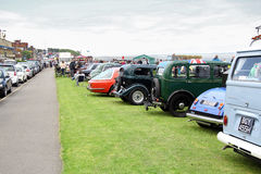 Whitstable vintage car show Stock Photo