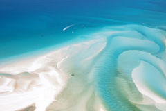 Whitsunday Island Australia. Aerial landscape of Whitehaven Beach in the Whitsundays Australia stock photos