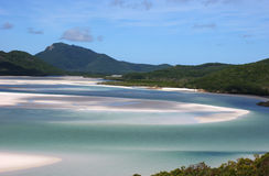 A Whitsundays design. Every day Whitsundays views is different. In this photo you can see one of them Stock Photos