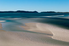 Whitsundays Island white beach. Australia Stock Photo