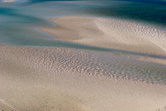 Whitsundays Island white beach. Australia Stock Images