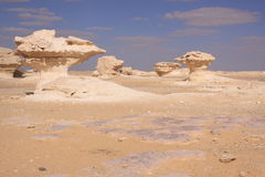 Whitte desert,Egypt Royalty Free Stock Image