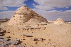 Whitte Wüste, Ägypten Stockbild