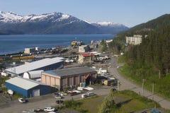 Whittier, Αλάσκα Στοκ Εικόνες