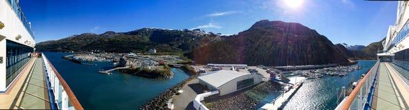 Whittier Аляска Стоковое Изображение