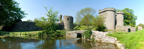 Whittington Castle Royalty Free Stock Image