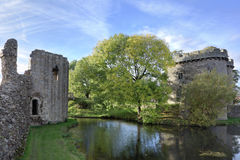 Whittington castle Shropshire Stock Images