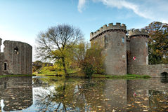 Whittington castle Shropshire Stock Photography