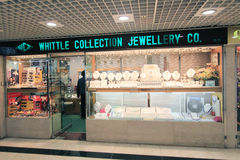 Whittle collection jewellery co shop in hong kong Royalty Free Stock Images