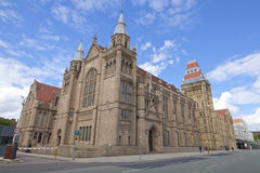 Whitworth Hall, университет Манчестера, Великобритании Стоковое Изображение