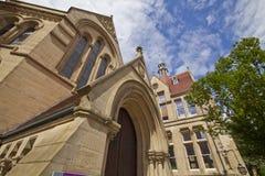 Whitworth Hall, université de Manchester, R-U Photographie stock