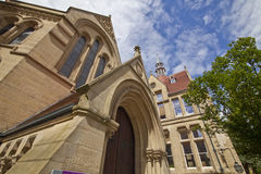 Whitworth Pasillo, universidad de Manchester, Reino Unido Fotografía de archivo