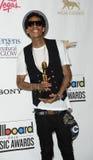 Whiz Khalifa in the Press Room at the 2012 Billboard Awards Stock Image