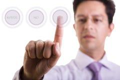 Wählen von YES Lizenzfreie Stockbilder