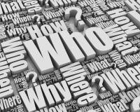 Who? Stock Image
