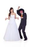 Who de kerel huwde ik? royalty-vrije stock afbeelding