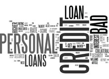 Who Is Eligible For A Bad Credit Personal Loan Word Cloud. WHO IS ELIGIBLE FOR A BAD CREDIT PERSONAL LOAN TEXT WORD CLOUD CONCEPT Royalty Free Stock Photo