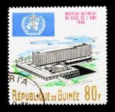 WHO-Gebäude, Einweihung von WHO hat, Genf-serie, Ci Hauptsitz stockfoto