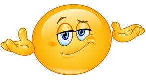 Who geeft emoticon vector illustratie