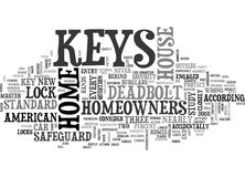 Who Has The Keys To Your Home Word Cloud. WHO HAS THE KEYS TO YOUR HOME TEXT WORD CLOUD CONCEPT Royalty Free Stock Image