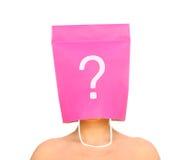 Who am I? Stock Image