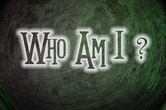 Who Am I Concept Royalty Free Stock Images