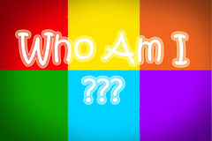 Who Am I Concept Royalty Free Stock Photo