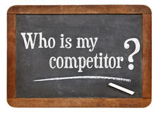 Who is my competitor Royalty Free Stock Images