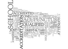 Who Is Qualified To Perform Acu Puncture Word Cloud Royalty Free Stock Image