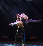 Who share weal and woe-Modern dance Royalty Free Stock Images