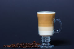 Who wants a delicious capuccino Stock Image