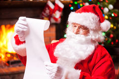 Who was naughty this year? Stock Images