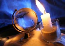 Who zal warm mijn kleine wereld? Royalty-vrije Stock Afbeeldingen